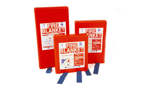 Fire Blankets and Fire Safety
